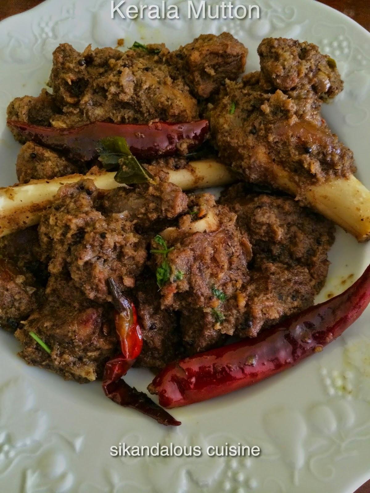 Sikandalous cuisine kerala lamb for Cuisine kerala
