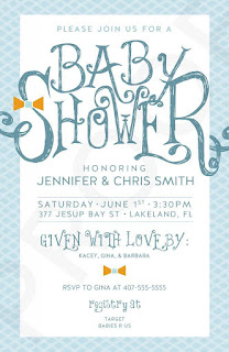 free baby shower invitation you can edit