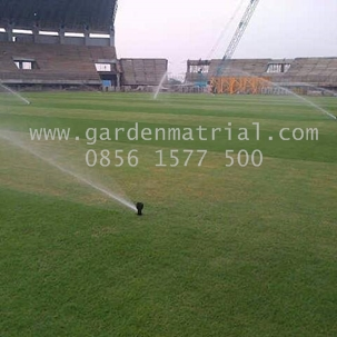 irigasi lapangan sepak bola