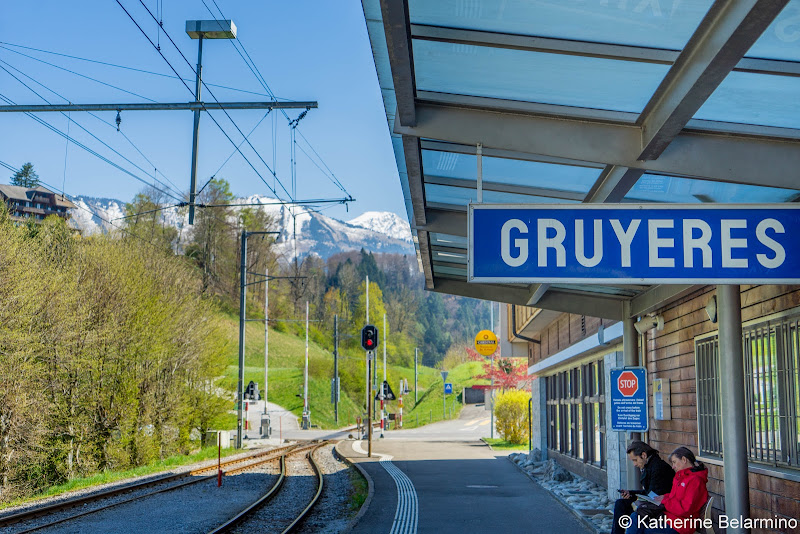 Gruyeres Train Station 5 Reasons Why You'll Want the Swiss Travel Pass