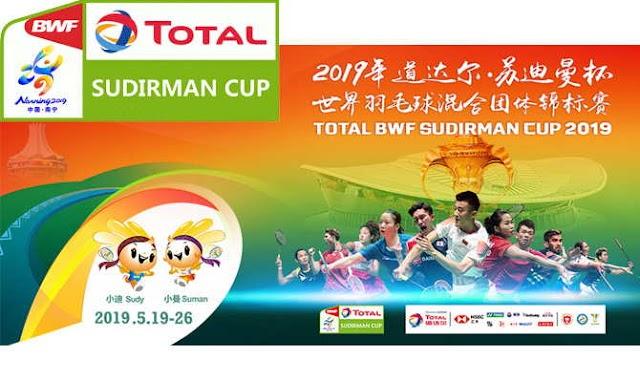 Pertandingan Dua Tahunan BWF, Sudirman Cup 2019