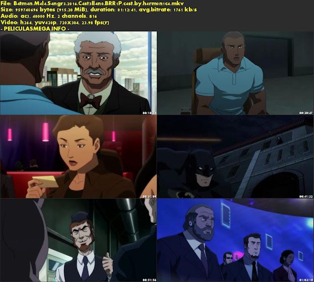 Descargar Batman: Mala Sangre Castellano por MEGA.