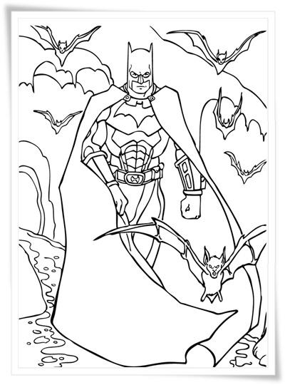 Ausmalbilder Batman Logo: Ausmalbilder Zum Ausdrucken: Ausmalbilder Batman Kostenlos
