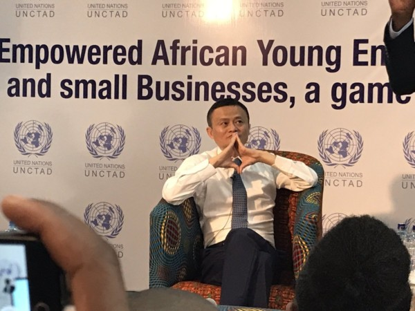 Asia's Richest Man Jack Ma visits Kenya to inspire Young Entrepreneurs