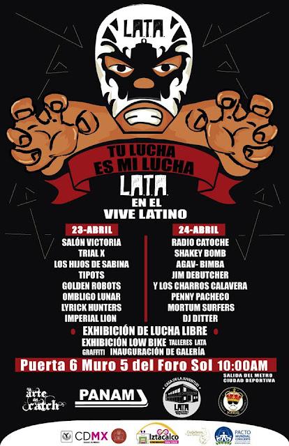 LATA tendrá conciertos y actividades durante el Vive Latino