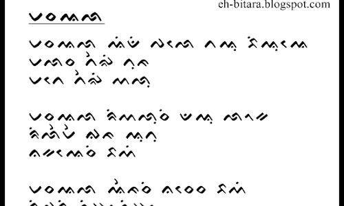 Lirik Lagu Bugis Masa'alla