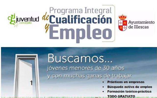 cartel-jornada-informativa-empleo-illescas-16022016- IMAGEN COMUNICACION ILLESCAS