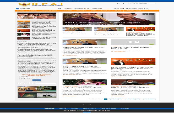 Website KPAI.GO.ID Sekarang Bisa Di Akses Setelah Di Deface Hacker ini Kata Netizen