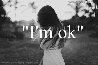 i am ok sad whatsapp dp and profile pic