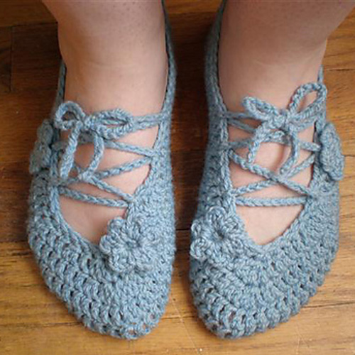 Room Shoes - Free Pattern