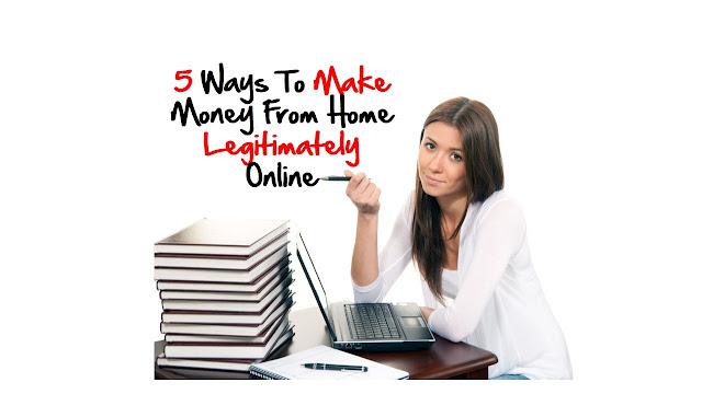 5 Fun Ways To Make Money Online