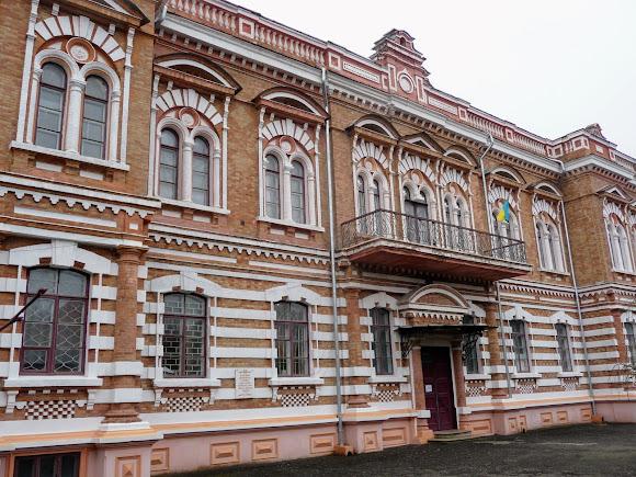 Білгород-Дністровський. Колишня земська управа. Аграрний технікум. Пам'ятка архітектури