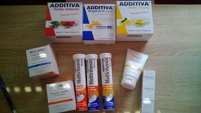 Vitamin Produkte und Cremes
