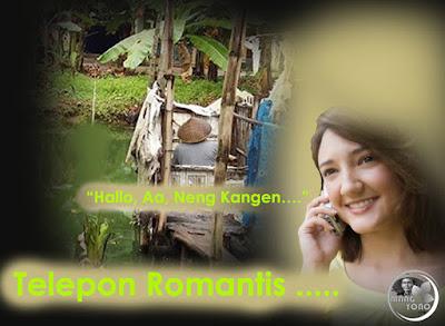 Telepon romantis dari pacar