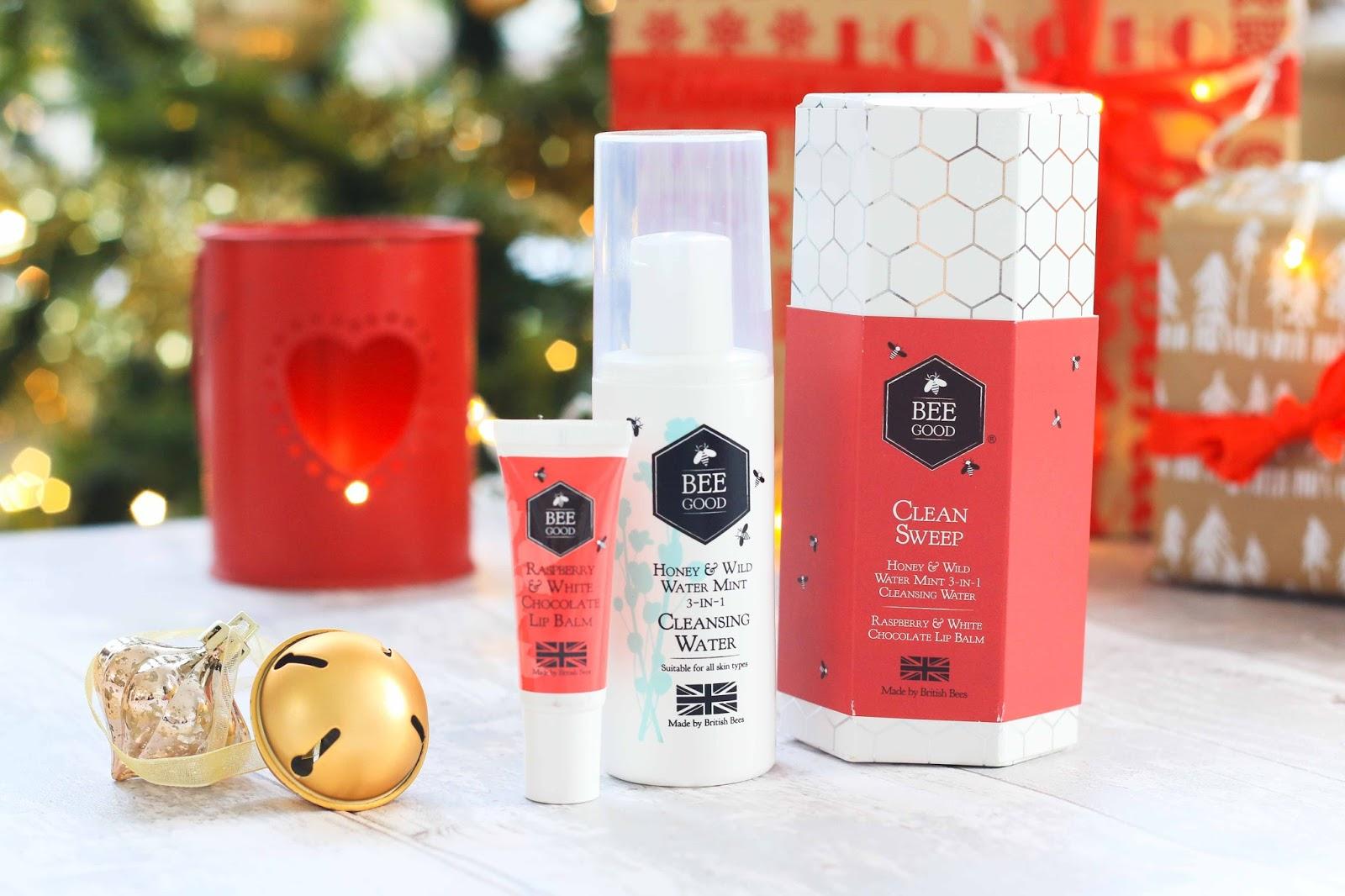 Beegood skincare gift set
