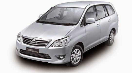 Rental / Sewa Mobil Harian Lepas Kunci TOYOTA INNOVA di Jakarta
