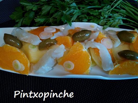 sin gluten, naranjas, fruta, cebolleta, aceitunas aloreñas, ensalada