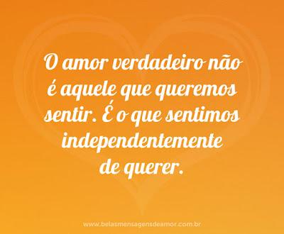 amor verdadeiro...