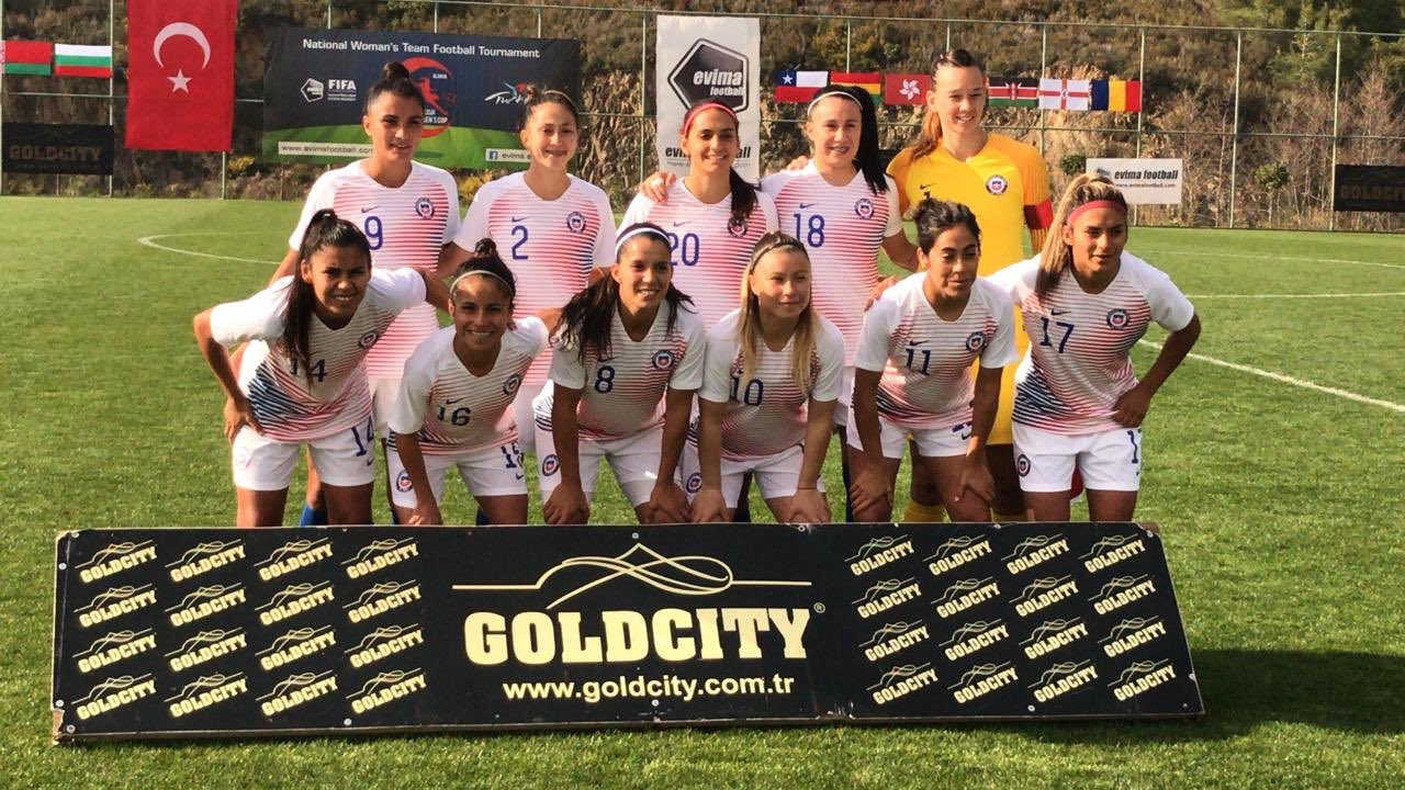 Formación de selección femenina de Chile ante Ghana, Turkish Women's Cup, 4 de marzo de 2020