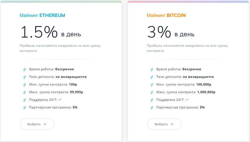 Инвестиционные планы IQMiner