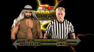 TNA Genesis 2009 - Sheik Abdul Bashir vs. Shane Sewell