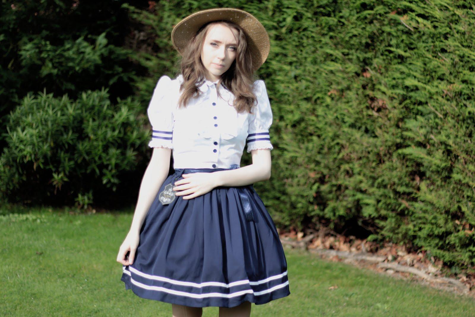 simple sailor lolita coord