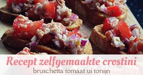 recept zelfgemaakte crostini