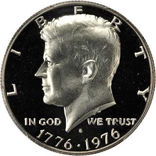 1976 Silver Kennedy Half Dollar