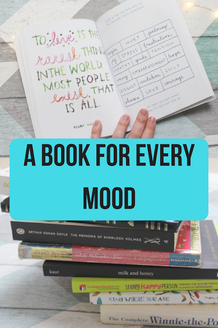 A book for every mood - www.nourishmeblog.co.uk