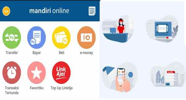 Cara Isi Ulang Saldo LinkAja via Mandiri Mobile dan ATM