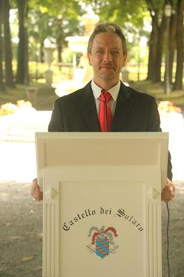 Maître e Direttore di sala Fabio Boselli - Castello dei Solaro