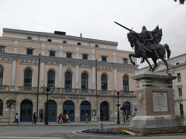 Plaza del Cid en Burgos