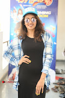 Actress Tejaswi Madivada Stills in Balck Long Dress at Babu Baga Busy Movie Interview  0019.jpg