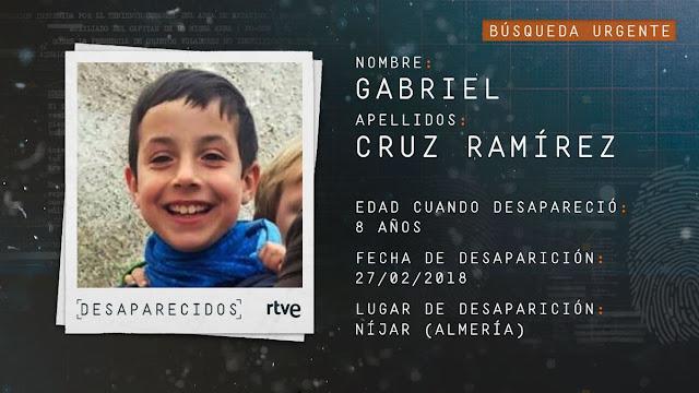 Gabriel Cruz desaparecido