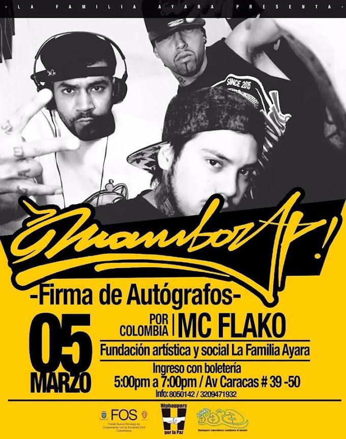 Mambo Rap Firma de autógrafos 4 y 5 de marzo Bogota | 2016