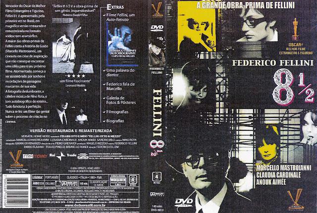 Capa DVD 8 1/2