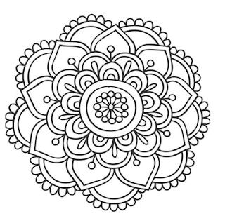 Moldes de mándalas y adornos decorativos para hacer
