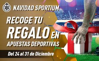 sportium regalo fin de año apostando futbol 24-31 diciembre