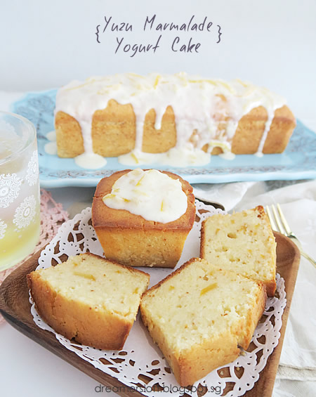 DreamersLoft: Yuzu Marmalade Yogurt Cake