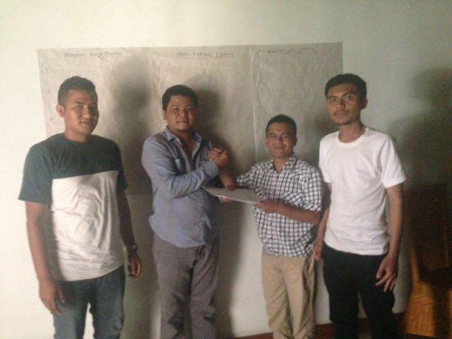 Rakan Mualem Aceh Tengah Terima SK