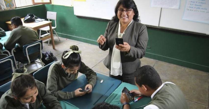 El celular puede motivar el aprendizaje de los alumnos - www.larepublica.pe