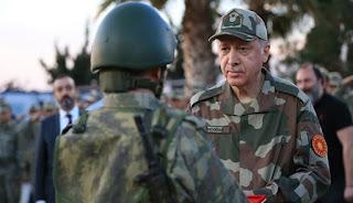 Tayyip Erdoğan: Bizim çocukluğumuzda askerlik yapmayanlar adam yerine konmazdı.