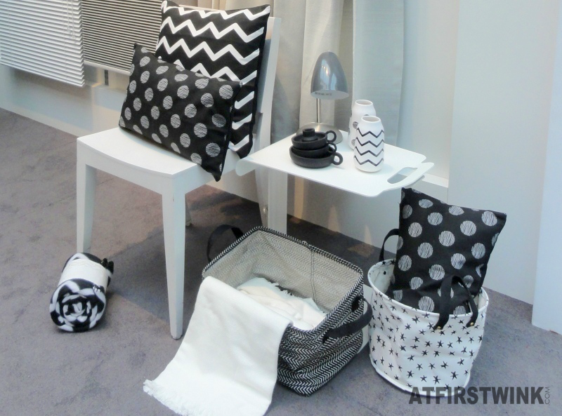 HEMA Spring/Summer 2016 Home Decor monochrome black-white