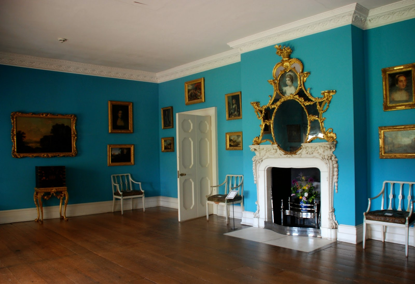 Mrs Child's boudoir, Osterley Park, West London