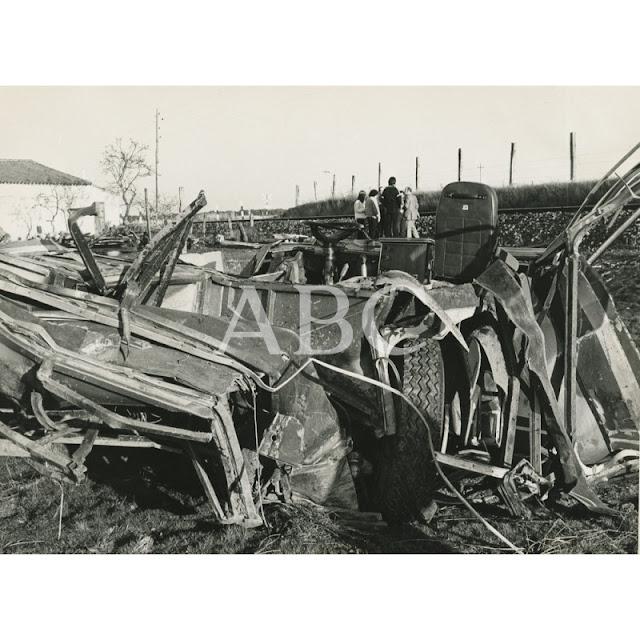 Accidente del paso a nivel de Muñoz (Salamanca) de 1978.