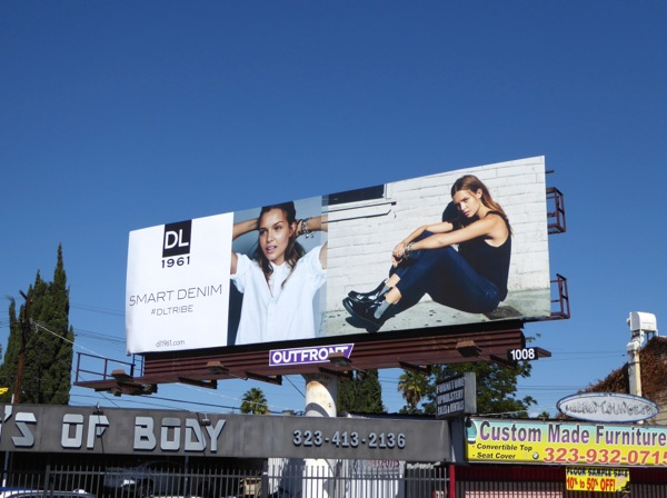DL 1961 Smart Denim F/W 2015 billboard