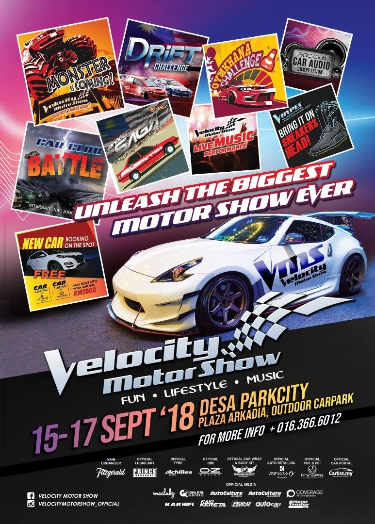 MotoringMalaysia Upcoming Events Velocity Motor Show At Desa - Car events this weekend