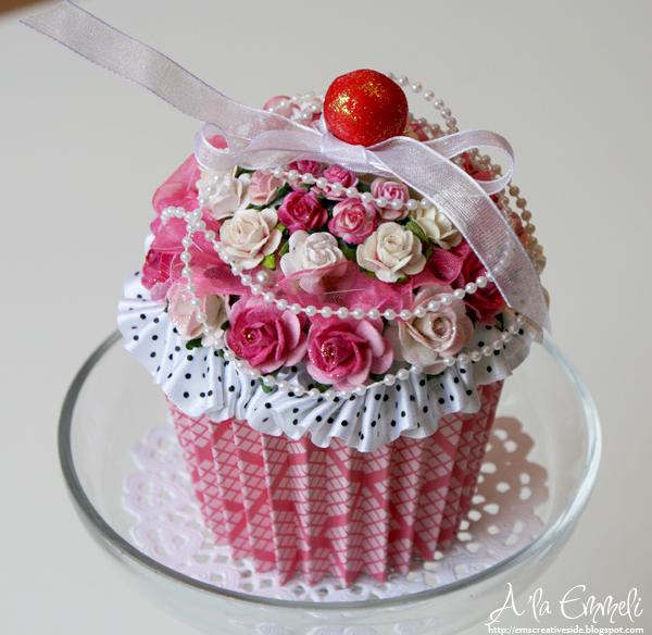 vackra grattiskort MiMa's Scrapbooking: En cupcake vackra grattiskort