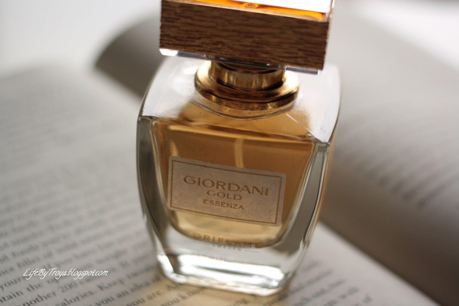 Review Oriflame Giordani Gold Essenza Perfume Troyas Land