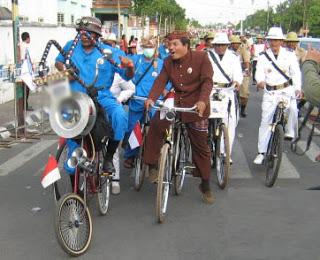 Peserta Gerak Jalan Perjuangan Mojosuro Dilarang Pakai Atribut Parpol